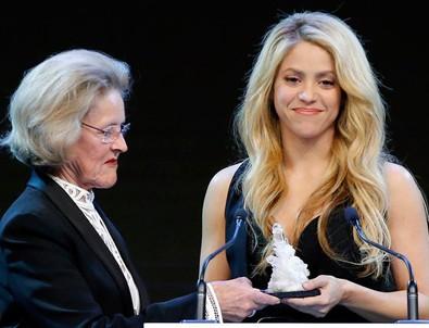 İyilik meleği Shakira