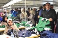 TÜRKIYE İŞ KURUMU - Tekstilkentin Sorunları Masaya Yatırıldı