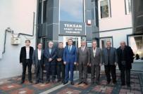 MESLEKİ EĞİTİM - Vali Çelik, Teksan Sanayi Sitesi'ni Ziyaret Etti