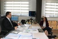 BÜYÜKŞEHİR BELEDİYESİ - Yalçınkaya SANKON Başkanını Ağırladı