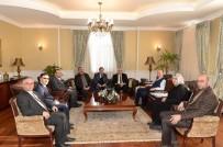 ERZURUM VALISI - Ak Parti Yürütme Kurulu'ndan Protokol Gezisi