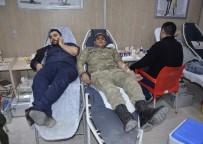 VATANDAŞLıK - Asker Ve Vatandaş Kan Bağışı İçin Seferber Oldu