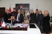 MESUT ÖZAKCAN - Aydın Efelerinden Başkan Özakcan'a Teşekkür Ziyareti