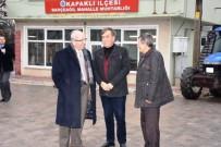YONCALı - Başkan Albayrak, Ergene, Kapaklı Ve Saray'ın Mahallelerini Ziyaret Etti