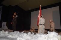 İSTIKLAL MARŞı - Cumhuriyet Anadolu Lisesi'nden Sarıkamış Programı