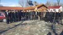 AHMET AYDIN - Emrullah Kara Ve Muhtarlardan, Ahmet Aydın'a Destek