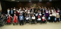 TİYATRO OYUNCUSU - Engelli Öğrencilerin Karne Sevinci