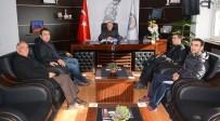 MİLLİ GÜREŞÇİ - Güreş Eğitim Merkezi Yönetiminden Başkan Acar'a Ziyaret