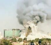 YANGINA MÜDAHALE - İran'da 17 Katlı Bina Çöktü Açıklaması 30 Ölü