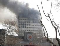 YANGıN YERI - İran'da yangın faciası