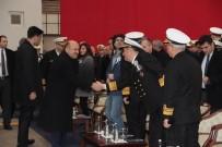 BÜLENT BOSTANOĞLU - Milli Savunma Bakanı Fikri Işık, İstanbul Fırkateyn'i Sac Kesme Törenine Katıldı