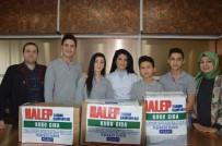 KARDEŞ OKUL - Öğrenciler Harçlıklarından Halep'e Yardım Topladı