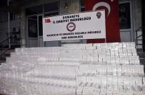 AKARYAKIT TANKERİ - Osmaniye'de 103 Bin 950 Paket Kaçak Sigara Ele Geçirildi