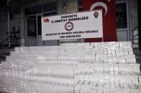 AKARYAKIT TANKERİ - Osmaniye'de Kaçak Sigara Operasyonu