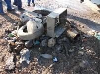 ARABA LASTİĞİ - SASKİ'den Kanalizasyon Çöp Atmayın Uyarısı