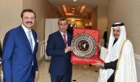 E-TİCARET - Sorgun TSO Başkanı Arslan'dan Katar Başbakan Yardımcısına Ziyaret