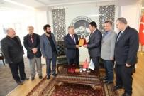 TÜRKIYE YAZARLAR BIRLIĞI - Türkiye Yazarlar Birliği Üyeleri Melikgazi Belediyesini Ziyaret Etti