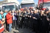 MEHMET MARAŞLı - Ürgüp'ten Halep'e Giden Yardım TIR'ları Dualarla Uğurlandı