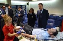 KıZıLAY - Zonguldak Emniyet Müdürlüğünden Kızılay'a Kan Bağışı