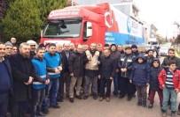 METİN ORAL - Altınova'dan Halep'e Yardım Eli