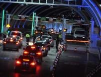 GEÇİŞ ÜCRETİ - Avrasya Tüneli'nin yeni ücreti belli oldu
