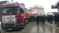 ÖZBURUN - Bolvadin'den, Halep'e 7 TIR Dolusu Yardım Gönderildi