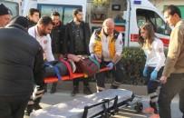 MOTOSİKLET SÜRÜCÜSÜ - Çorum'da Motosiklet Kazası Açıklaması 1 Yaralı