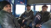 ALI KAYA - Dağda Mahsur Kalan Avcılar Kurtarıldı