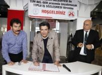 ÇALIŞAN KADIN - Döşemealtı Belediyesi'nde Toplu İş Sözleşmesi Sevinci