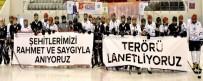 İSTANBUL TEKNIK ÜNIVERSITESI - ETÜ 15 Temmuz Anısına Buz Hokeyi Turnuvası Düzenledi