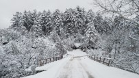 KAR ÖRTÜSÜ - Kazdağları Muhteşem Kar Manzaraları İle Adeta Büyülüyor