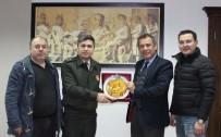 ASKERLİK ŞUBESİ - Milas Askerlik Şube Başkanı Can'dan MİTSO'ya Ziyaret