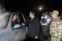 Vali Özefe, Güvenlik Güçlerinin Yeni Yılını Kutladı