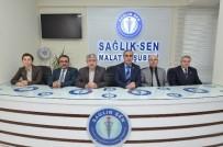 SAĞLıK VE SOSYAL HIZMET ÇALıŞANLARı SENDIKASı - Yeşilyurt Belediye Başkanı Polat Açıklaması 'Terörün Vurduğu Masum Halktır, İnsanlıktır'