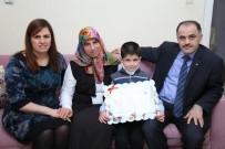 LÖSEMİ HASTASI - 7 Yaşındaki Arif Karnesini Evinde Aldı