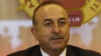 MEVLÜT ÇAVUŞOĞLU - Bakan Çavuşoğlu'ndan AP'nin yeni başkanına tebrik telefonu