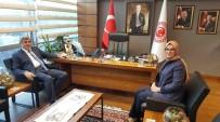 İBRAHIM KARAOSMANOĞLU - Başkan Karaosmanoğlu, Ankara'da Temaslarda Bulundu