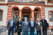 SELIM YAĞCı - Başkan Yağcı'ya Kepez Belediye Başkanı Tütüncü'den Ziyaret