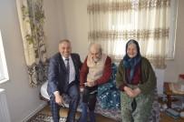 AHMET AYDIN - Başkan Yaman'dan Hasta Ve Yaşlılara Ziyaret