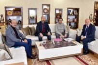 MİLLETVEKİLLİĞİ - Beyoğlu Ve Sultangazi Belediye Başkanları Başkan Sekmen'i Ziyaret Etti