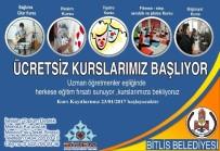 BAĞLAMA - Bitlis Belediyesinden Yeni Kurslar