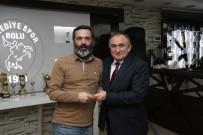 GAZETECILER GÜNÜ - Bolu Belediyesi'nden Gazetecilere Teşekkür Plaketi