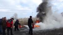 İL SAĞLıK MÜDÜRLÜĞÜ - Çavdarhisar Devlet Hastanesi'nde Yangın Tatbikatı