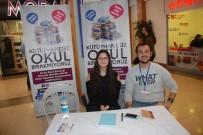 AKILLI TAHTA - Çorlu Kent Konseyi Gençlik Meclisi Seymen'e Kütüphane Kuracak
