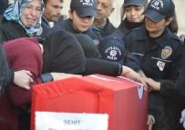 DICLE ÜNIVERSITESI - Diyarbakır Şehidi Furkan Demir Memleketine Uğurlandı