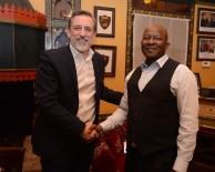 İBRAHIM BURKAY - Güney Afrikalı Gençler BUTGEM'de Meslek Öğrenecek