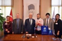 OSMAN GÜRÜN - Güreşçi Zabıta'dan Başkan Gürün'e Ziyaret