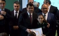 ANADOLU İMAM HATİP LİSESİ - İstanbul Valisi Vasip Şahin Öğrencilere Karne Dağıttı