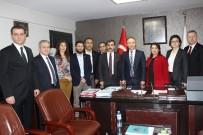 TÜRK SAĞLıK SEN - Kahveci, Sağlık Müdürü Cin'i Ziyaret Etti