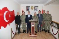 TUGAY KOMUTANI - Korgeneral Çetin'den Vali Toprak'a Ziyaret